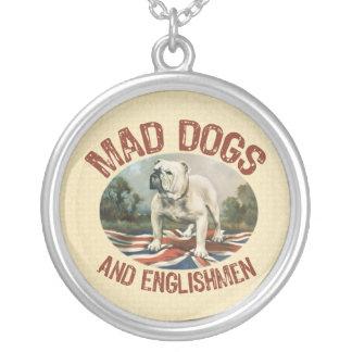 Mad Dogs & Englishmen Round Pendant Necklace