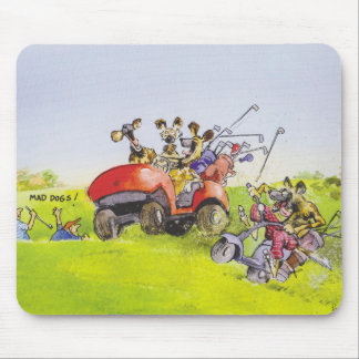 Mad Dogs Mouse Pad