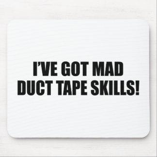 Mad duct tape skills mousepad