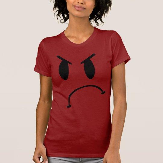 Mad Emoticon Shirt