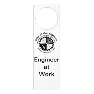 Mad Engineer Door Hanger