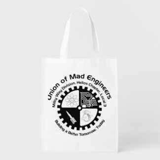 Mad Engineer Grocery Bags
