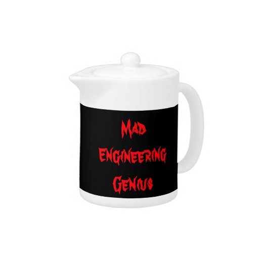 Mad Engineering Genius Geeky Geek Nerd Gifts Zazzle