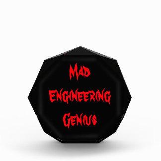 Mad Engineering Genius Geeky Geek Nerd Gifts Award