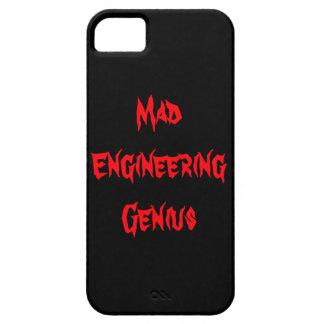 Mad Engineering Genius Geeky Geek Nerd Gifts iPhone 5 Case