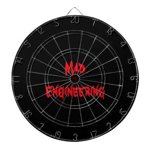 Mad Engineering Genius Geeky Geek Nerd Gifts Dart Boards