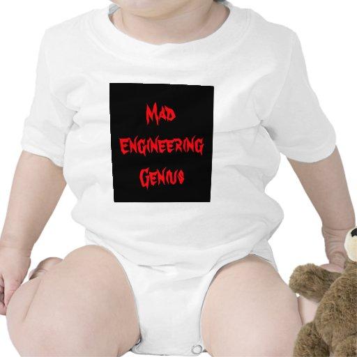 Baby Gifts For Engineers : Mad engineering genius geeky geek nerd gifts baby bodysuit