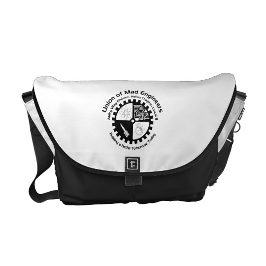 Mad Engineers Logo Courier Bag