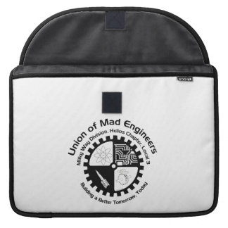 Mad Engineers Logo Sleeves For MacBook Pro