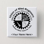 Mad Engineers Name Pin