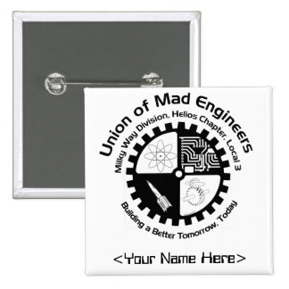 Mad Engineers Name Pin