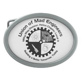 Mad Engineers Oval Belt Buckle