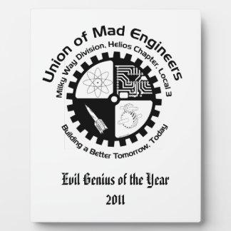 Mad Engineers Plaque