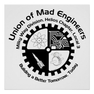 Mad Engineers Poster