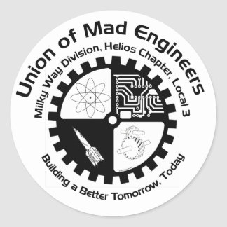 Mad Engineers Sticker