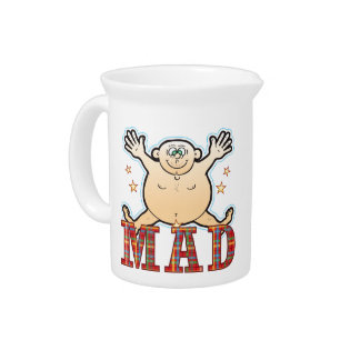 Mad Fat Man Drink Pitcher