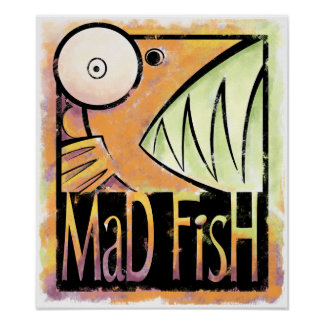 Mad Fish Print