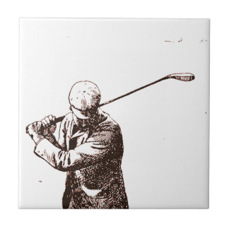 Mad For Golf Tile