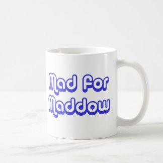 Mad for Maddow Classic White Coffee Mug