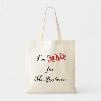 Mad for Mr. Rochester Budget Tote Bag