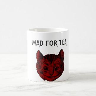 Mad For Tea Cheshire Cat Morphing Mug