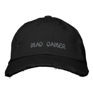 Mad Gamer Cap Embroidered Hat
