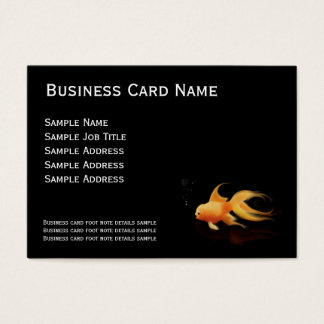 Mad goldfish business Cards