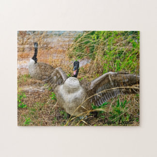 Mad Goose Jigsaw Puzzle