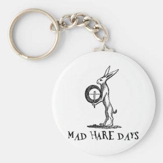 Mad Hare Days Basic Round Button Keychain
