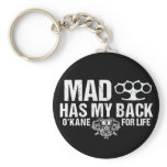 Mad Has My Back Keychain