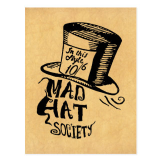 Mad Hat Society Post Cards