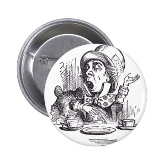 Mad Hatter 1 Button