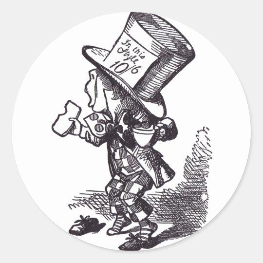 Mad Hatter 2 Classic Round Sticker