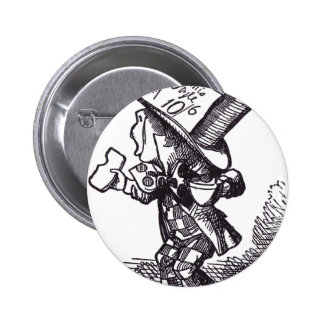 Mad Hatter 2 Pinback Buttons