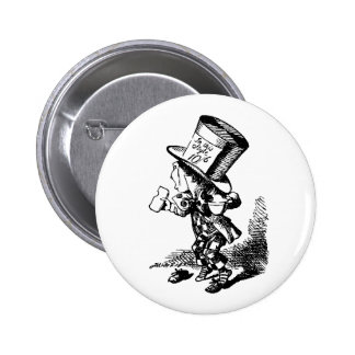 Mad Hatter - Alice In Wonderland 2 Inch Round Button