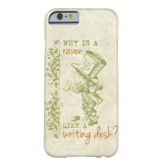 Mad Hatter, Alice in Wonderland Barely There iPhone 6 Case