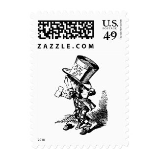 Mad Hatter - Alice In Wonderland Postage Stamp