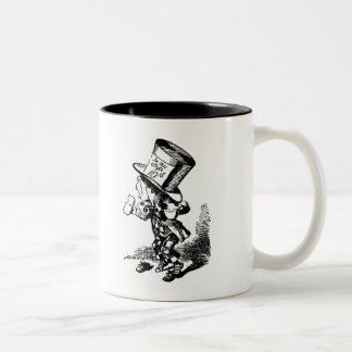 Mad Hatter - Alice In Wonderland Two-Tone Coffee Mug