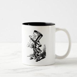 Mad Hatter - Alice In Wonderland Two-Tone Coffee Mug