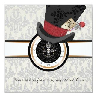 alice in wonderland wedding invitations  announcements  zazzle, Wedding invitations