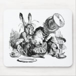 Mad Hatter and March Hare dunking the Dormouse Mouse Pad
