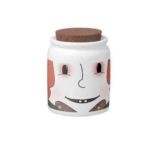 Mad Hatter Candy Jar