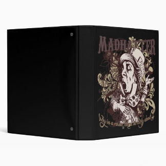 Mad Hatter Carnivale Style Binders