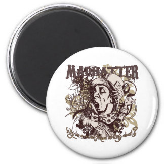 Mad Hatter Carnivale Style Magnets