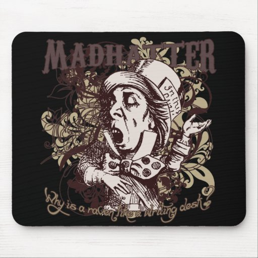 Mad Hatter Carnivale Style Mouse Pad