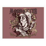 Mad Hatter Carnivale Style Postcard