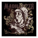 Mad Hatter Carnivale Style Posters
