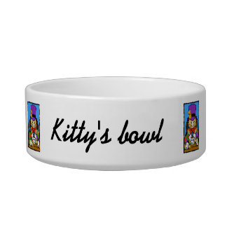 Mad hatter cat cat water bowls