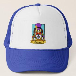 Mad hatter Cat Trucker Hat