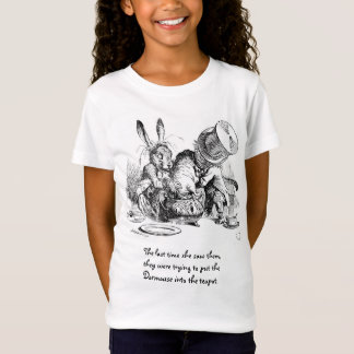 Mad Hatter, Dormouse and March Hare T-Shirt